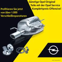 OPEL SERVICE KOMPLETTPREIS-OFFENSIVE