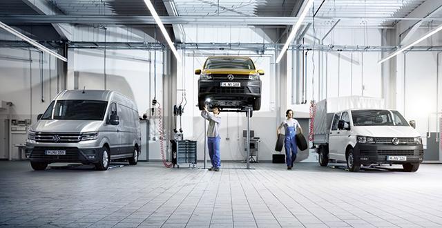 Volkswagen Nutzfahrzeuge Service